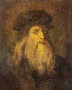 Da Vinci exhibited in London