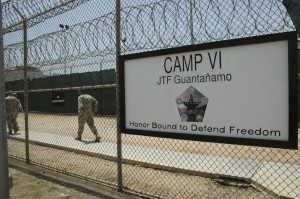 Detention center at Guantanamo Bay US Naval Base, in Cuba