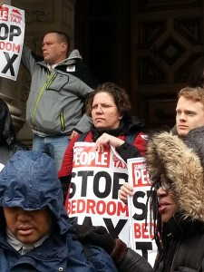 Protesta por recortes 1