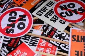 Protesta por recortes 4