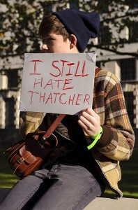 Thatcher ha muerto 15
